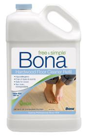 Bona 160oz Free & Simple Hardwood Floor Cleaner Bonus Size