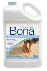 Bona 4-160oz Free & Simple Hardwood Floor Cleaner Bonus Size