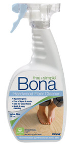 Bona 6-36oz Free & Simple Hardwood Floor Cleaner Spray