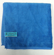 "Legacy 16"" x 16"" Blue Ribbon Blue Micro-Fiber"