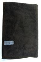 "Legacy 16"" x 24"" Brown Large Micro-Fiber Towel"