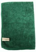 "Legacy 16"" x 24"" Dark Green Large Micro-Fiber Towel"