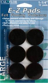 """1-1/4"""" E-Z Pads Felt Floor Protectors 1 Pack"""