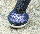 "1-1/4"" Grey Commercial Grade Peel N Stick Sliders"
