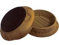 """Madico 1-3/4"""" Plastic Woodgrain Effect Cups (nonskid)"""