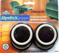 "Slipstick 1.5"" Black Large Recliner Gripper Feet 4 pc. (CB380)"