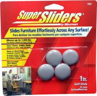 "Waxman 1"" Peel n Stick Furniture Super Sliders"