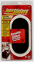 "Waxman 9-1/2"" x 5-3/4"" Resuable Furniture Super Sliders"