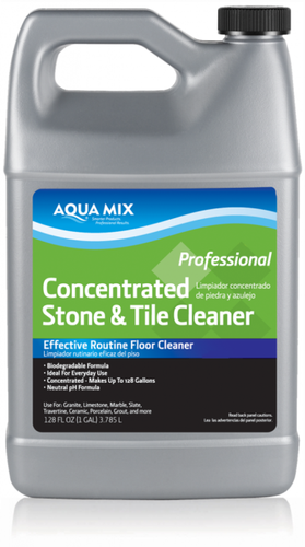 Aqua Mix 1gl Stone Amp Tile Cleaner Concentrate The Floor