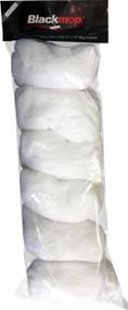 """BlackMop 100% Premium Cotton 8"""" x 15"""" Mop Cover 12 Pack"""