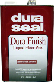 Duraseal Coffee Brown 1gl Durafinish Liquid Floor Wax