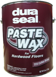 Duraseal Coffee Brown 6 lbs Paste Wax