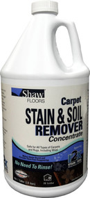 shaw carpet cleaning concentrate