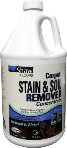 Shaw Carpet Stain Amp Soil Remover Concentrate 1 Gallon