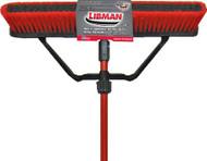"Libman 24"" Multi-Surface Heavy Duty Push Broom"