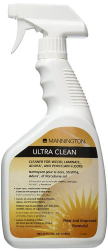 Mannington Ultraclean Wood Laminate Cleaner 32oz Spray