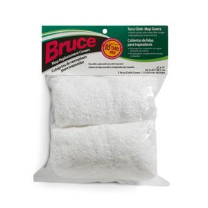 Bruce Dura Luster Replacement 8x15 Terry Cloth Mop Covers