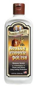 Parker & Bailey 8 oz Brass & Copper Polish Bottle