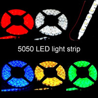 5050 LED strip with leads 12 volt waterproof