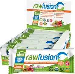 RawFusion Whole Foods Protein Bars - 12 Bars