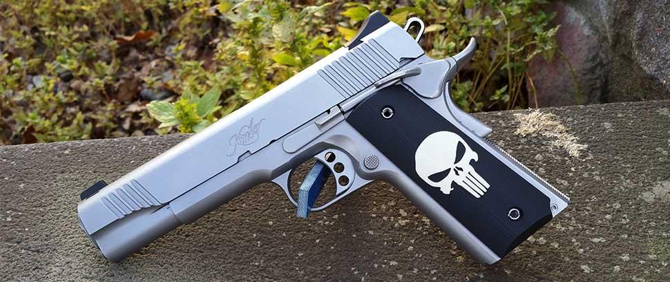 1911 Punisher Inlay G10 Grips