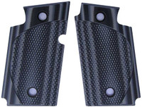 Sig P938 Checkered CC Grey Black G10