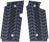 Sig P238 Ridgeback Grey Black G10