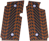 Sig P238 Ridgeback Orange Black G10
