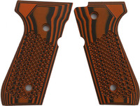 Beretta 92 Bogies Orange Black G10