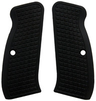 CZ 75 Grips Black Frag Style made from G10