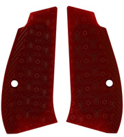 CZ 75 Compact Thin Matrix Blood Red G10