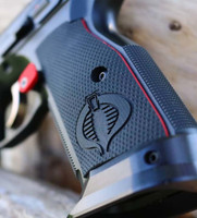 CZ Shadow 2 Palm Swell - Engraved Cobra & Liner