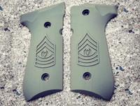 Beretta 92 Engraved Army E9 CSM