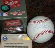 Yovani Gallardo Signed Texas Rangers Major League Baseball STEINER Sports Hologram & COA