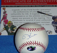 MILWAUKEE BREWERS RICKIE WEEKS AUTOGRAPHED SIGNED OFFICIAL MLB BASEBALL LEGENDS COA HOLOGRAM