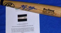 Milwaukee Brewers Ryan Braun Autographed Auto RB PRO Model Baseball Bat Mikita Sports Hologram and COA