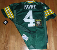 GREEN BAY PACKERS BRETT FAVRE SIGNED STARTER PRO LINE AUTHENTIC JERSEY FARVE COA