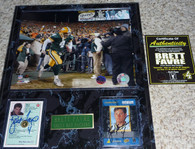 3 Signature - BRETT FAVRE Signed 8x10 Green Bay Packers photo Star Pics Rookie Laserview Card