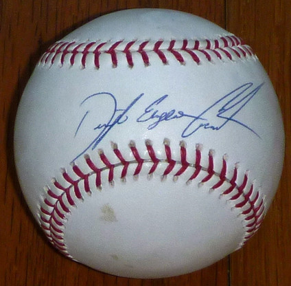 NY New York Mets Dwight Eugene Gooden Autographed Baseball PSA DNA Hologram