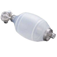 Resuscitator Adult Disposable BVM  w/ No 5 Mask & Popoff 60cm H2O - Liberty brand.