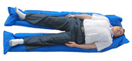Full body Immobilization Vacuum Mattress Split Leg - Rescuer-Landswick brand.