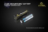 Xtar 18650 (18700) 2600mAh 3.7V Li Ion Bp1 protected rechargeable battery - 4 Pack