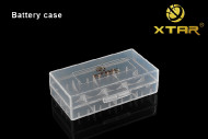 XTAR  battery carry case for 2 x 18650/18700 Li Ion LED torch batteries