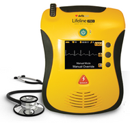 Defibtech Lifeline PRO with LCD Screen and Manual Override