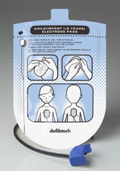 Defibtech Replacement Infant Electrode Pads - for Lifeline AED