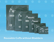 Reusable BP Cuffs without bladders Double Hose