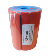 Breathable mouldable roll Splint Red/Blue