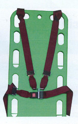 Shoulder Harness Restraint Strap four pieces, Loop ends Metal buckle