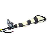 AZ-TRS-02 Carbon Fibre Traction Splint on patient