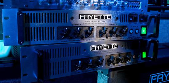 Stereo tube power amps